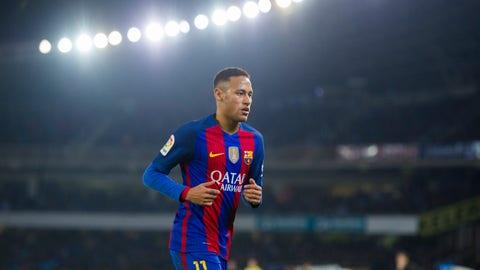 Forward: Neymar (Barcelona)