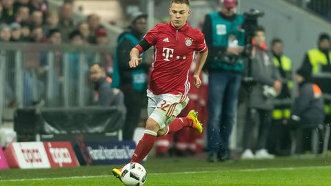 Central midfield: Joshua Kimmich