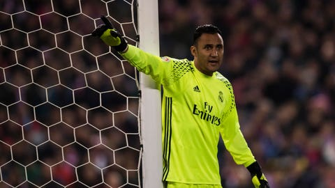 Goalkeeper: Keylor Navas (Real Madrid)