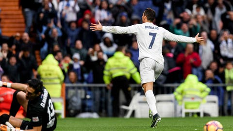 Forward: Cristiano Ronaldo (Real Madrid)