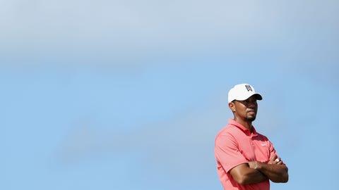 People pretending golf didn't miss Tiger Woods
