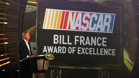 Bill France Award of Excellence