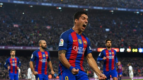 Barcelona: Luis Suarez is hungry