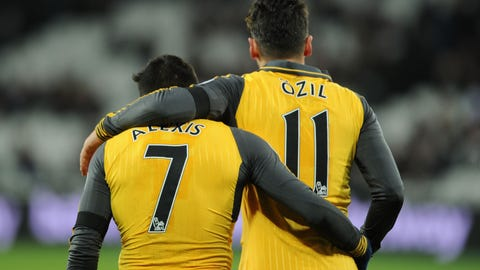 Sort out Alexis and Ozil's futures