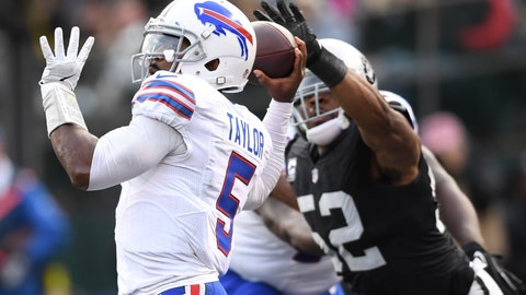Raiders 38 - Bills 24