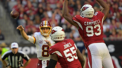 Cardinals 31 - Washington 23
