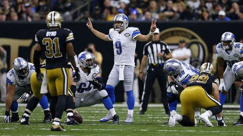 The Saints pass defense gets picked apart by the Lions