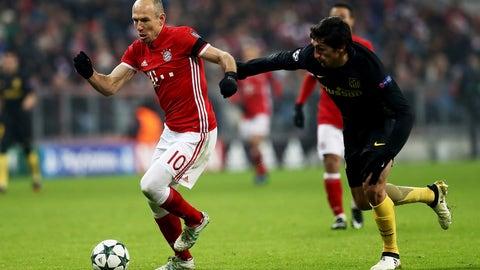 Bayern and Atletico go toe-to-toe
