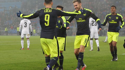 Arsenal: (Previously: 7)