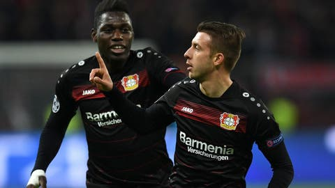 Leverkusen's offense makes a return
