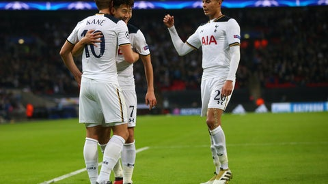 Spurs get a win at Wembley Stadium