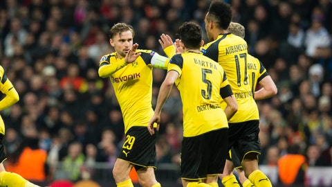 Borussia Dortmund (Previously: 3)