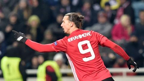 13 - Zlatan Ibrahimovic
