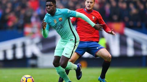 Defender: Samuel Umtiti, Barcelona