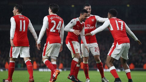 The Arsenal attack is still rolling