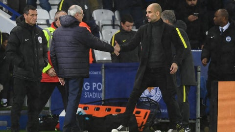 Claudio Ranieri took Pep Guardiola's talent