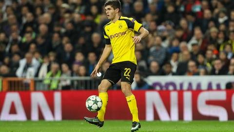 Christian Pulisic stays put at Dortmund