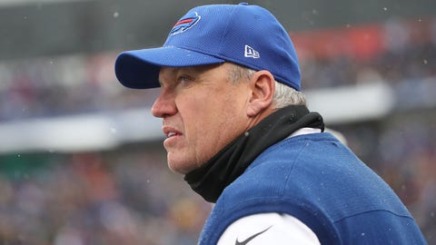 How warm is Rex Ryan's seat?