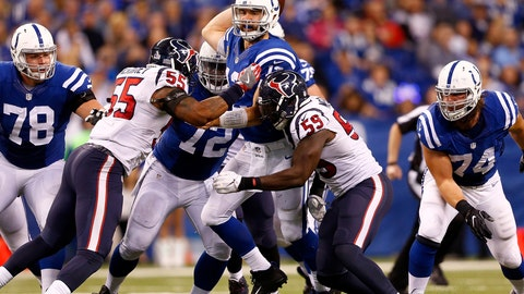 The Colts' offense and offensive line fall apart