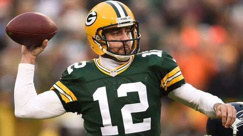 Aaron Rodgers, QB, Packers (calf)