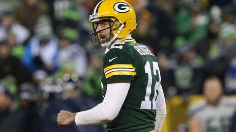 Aaron Rodgers wants to talk about the win, not the injury