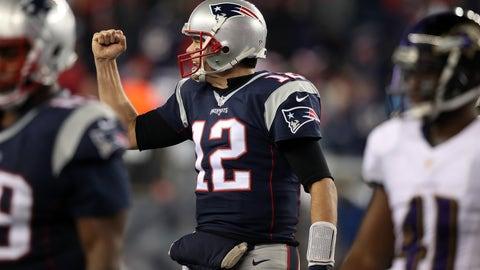 AFC: 1. New England Patriots (14-2)