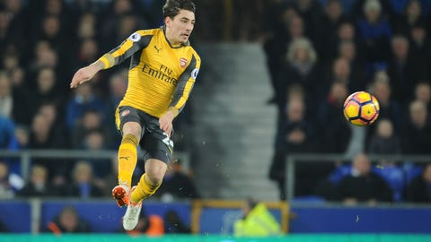 Right back: Hector Bellerin