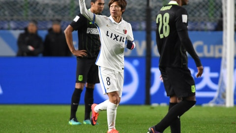 Kashima Antlers make Asian soccer history