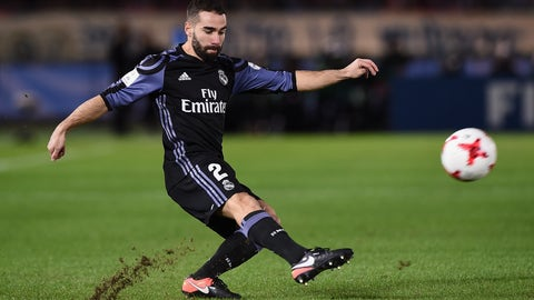 Right back: Dani Carvajal (Real Madrid)