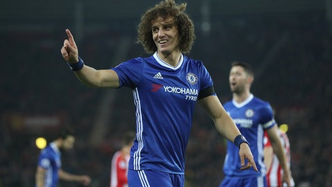 David Luiz will win Premier League Defender of the Year