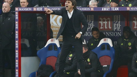 For Antonio Conte: Throat lozenges and lemon tea