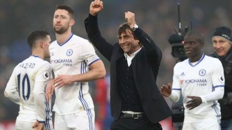 Chelsea win the Premier League