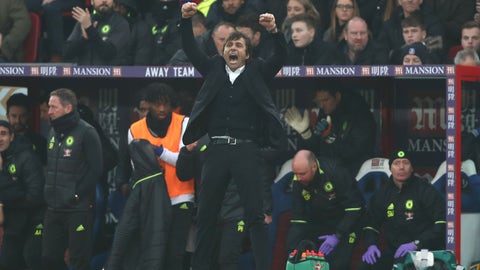 Antonio Conte and Chelsea shooting for history