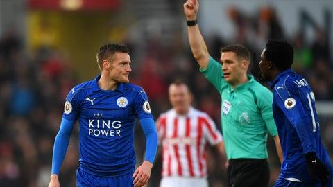 Leicester overcame Jamie Vardy