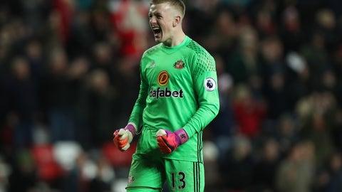 Sunderland — Jordan Pickford