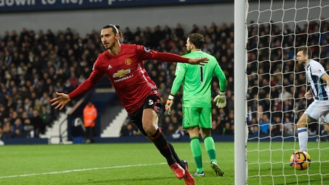 For Zlatan Ibrahimovic: The chance to finish his career at United