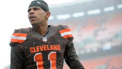 WR Terrelle Pryor (Browns)