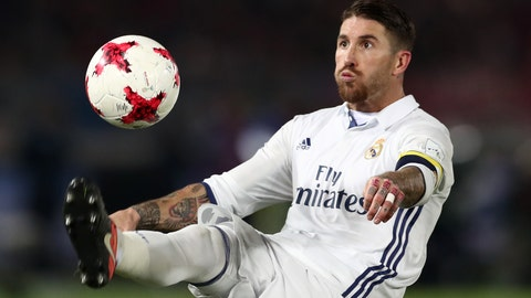 D: Sergio Ramos (Spain, Real Madrid)