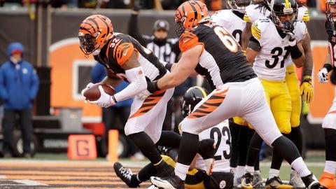 Steelers 24 - Bengals 20