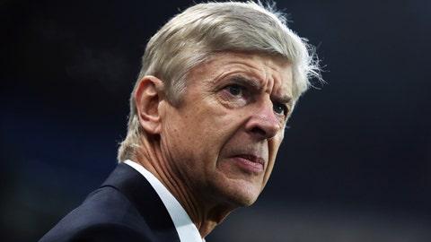 Arsenal won't make Champions League