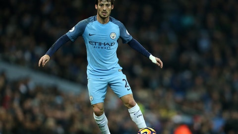 Spain forward: David Silva