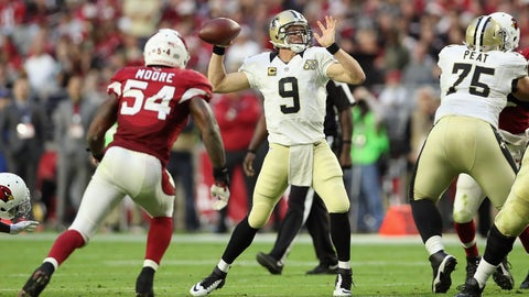 Saints 48 - Cardinals 41