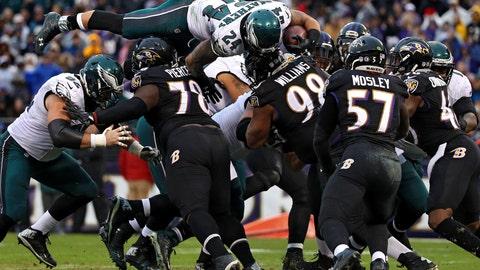 Ravens 27 - Eagles 26