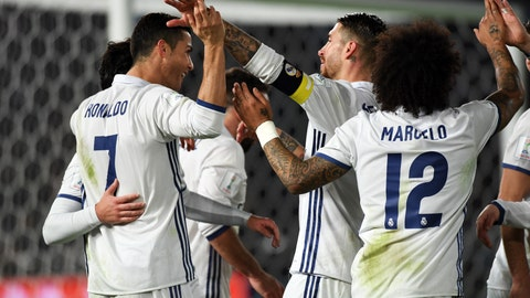 For Real Madrid: Nothing, you greedy jerks