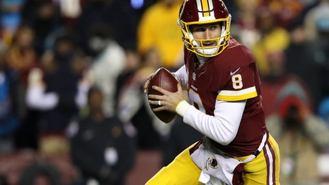 Kirk Cousins -- Washington Redskins