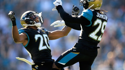 The Jaguars finally have some fun in a victory over the Titans