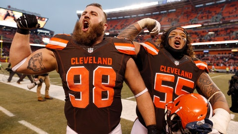 The Cleveland Browns finally, mercifully, win a football game