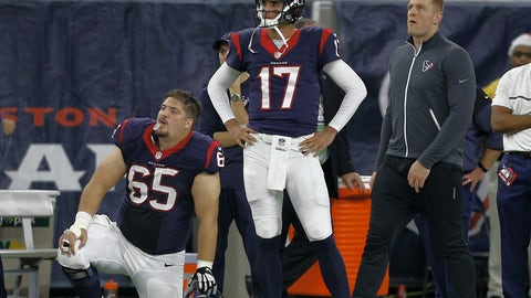 Brock Osweiler, QB --  Houston Texans