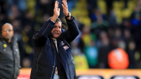 Big Sam gets off to a good start