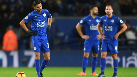 Leicester can't get away from the relegation fight